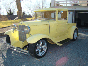1931 Ford Model A Closed Cab Pickup