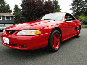 1995 ford mustang engine 5.0 l v8
