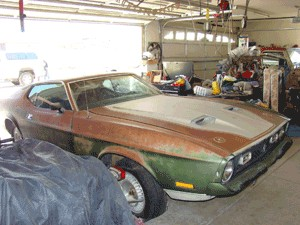 1971 Ford Mustang Mach I