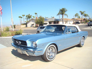 """1965 """"1964-1/2"""" Ford Mustang"""