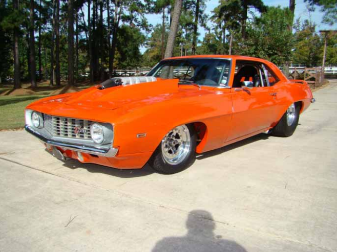 1969 Chevrolet Camaro Pro Street