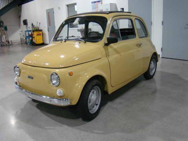 Classic Car For Sale 1974 Fiat 500 R Auto Appraisal Network