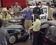 Who's at Fault in a Multi-Vehicle Accident?